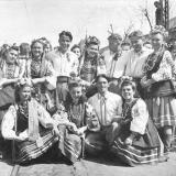 Краснодар. На первомайской демонстрации 1949 года