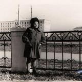 Краснодар. На ул. Шоссе Нефтяников, у дома №1, 1955 год
