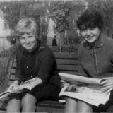 Краснодар. На улице Красной возле станкостроительного техникума, 26 апреля 1966 года
