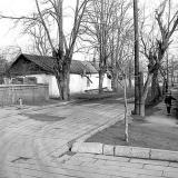 Краснодар. На улице Тельмана. Вид переулка. 12.02.1983 г.