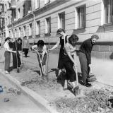 Краснодар. На улице Ярмарочной, май 1961 года.