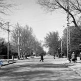 Краснодар. Вид на улицу Красную от перекрёстка с Тельмана