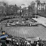 Краснодар. Открытие памятника В.И. Ленину, 21 апреля 1956 год