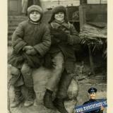 Краснодар. Пацаны. Оккупационный снимок, зима 1942 года