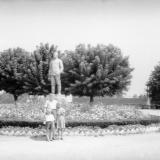 "Краснодар. Памятник И.В. Сталину на стадионе ""Динамо"", 1959 год"