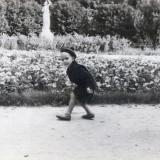 Краснодар. Парк им. М. Горького. На аллее. 1961 год