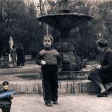 """Краснодар. Парк им. М. Горького. """"Лягушечий"""" фонтан на аллее, ведущей к горке."""