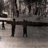 Краснодар. Парк им. М.Горького, зима 1965 года