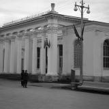Краснодар. Павильон Тихорецкого, Ново-Покровского и Белоглинского районов, 1956 год