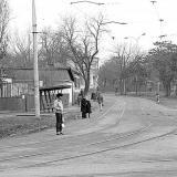 Краснодар. Перекресток Садовой и Карасунской Набережной. 9 января 1983 год