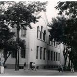 Краснодар. Перекресток улиц Красноармейской и Советской, вид на северо-запад, 1969 год