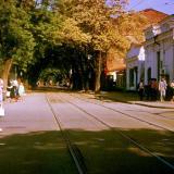 Краснодар. Перекресток улиц Красной и Горького, вид на восток, конец 1970-х
