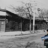 Краснодар. Перекрёсток улиц Седина и Гоголя, вид на северо-запад. год: 1981