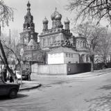 Краснодар. Перекресток ул. Фрунзе и Карасунской, 1987 год