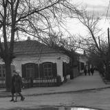 Краснодар. Пересечение улиц Буденного и Красноармейской. Вид на юг.