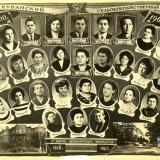 Краснодар. Первый выпуск экономического факультета. Группа 303. 1965 год