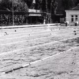 """Краснодар. Плавательный бассейн на стадионе """"Динамо"""", 1987 год"""