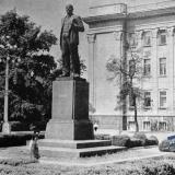 Краснодар. Памятник В.И. Ленину, 1965 год.
