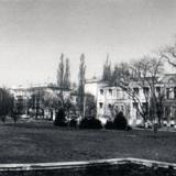 Краснодар. Площадь у библиотеки А.С. Пушкина, 1989 год