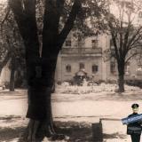 Краснодар. Двор Первой городской больницы, 1950-е
