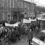 Краснодар. Протест крымских татар. 1988 год.