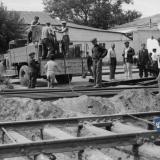 Краснодар. Работы на улице Красной. Август 1949 года.
