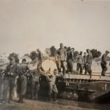 Краснодар, район КРЭС, строительство переправы, немецкий паром, 21.08.1942