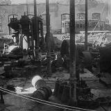 1948 год. Февраль. Разрушения в трамвайном парке