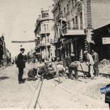 Краснодар. Реконструкция ул. Пролетарской (ул. Мира), 1934 год