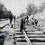 Краснодар. Реконструкция улицы Пролетарской, май 1934 года