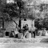 """Краснодар. Ресторан """"Курень """" на острове в парке """"40 летия Октября""""."""