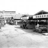Краснодар. Сенной рынок. 1977 год