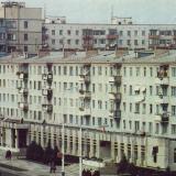 Краснодар. Северо-западный жилой район. Застройка по улице Атарбекова.