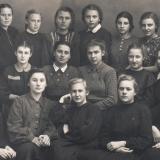 Краснодар. Школа № 37, 1950 год, 10 А класс