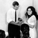 Краснодар. Школа № 48. 1972 год. Вручение аттестатов