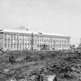 Краснодар. Школа № 5, вид с улицы Котовского