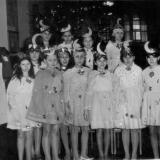 "Краснодар. Школа № 8, 5 ""Б"" класс, Новый год 1964 года"