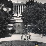Краснодар. Сквер у площади Победы, 1967 год