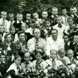"""Краснодар. Средняя школа №30. 4 """"Б"""" класс, 1957 год"""