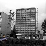 Краснодар. Строительство дома по ул. Красной, 153. 1974 год