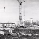 Краснодар. Строительство крытого рынка, 1987 год