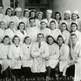 Краснодар. Студенты Краснодарского мединститута 1 группа 1 поток 4 курс, 1946 год