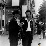 Краснодар. Угол улиц Мира и Красной, вид на запад, 1966