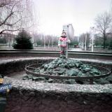 """Краснодар. У универмага """"Фестивальный"""", около 1993 года"""