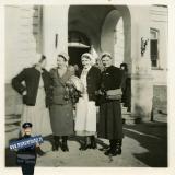 Краснодар. У входа в 1-ю городскую больницу, осень 1942 года
