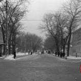 Краснодар. Угол Красной и Тельмана (Постовой), вид на юг, 1964 год