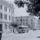Краснодар. Перекрёсток улиц Сталина и Пролетарской, 1949 год