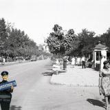 Краснодар. Угол ул. Ленина и Красной, вид на север, август 1942 года
