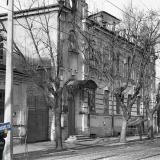 Краснодар. Улица Коммунаров у перекрёстка с Ворошилова, вид на север, 1979 год