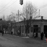Краснодар. Угол улиц Красноармейской и Мира, вид на запад. Середина 1960-х
